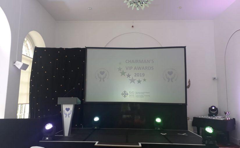 Swansea Bay University Health boards annual Chairman's awards